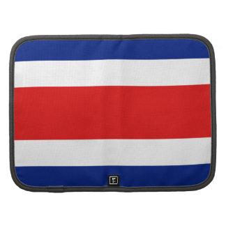 Costa Rica Flag Folio Organizer