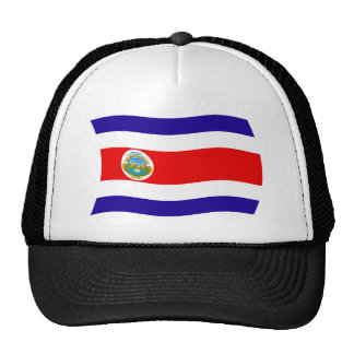 Costa Rica Flag Hat
