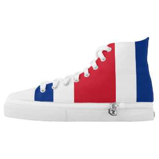 Costa Rica Flag High Top Shoes