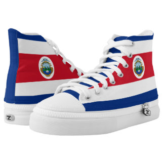 Costa Rica Flag High Tops