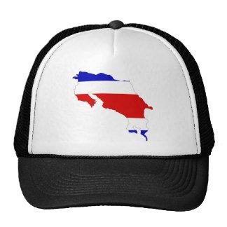 Costa Rica Flag Map Cap