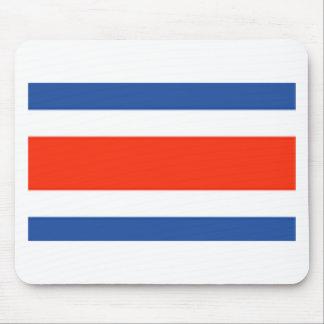 Costa Rica Flag Mouse Mat