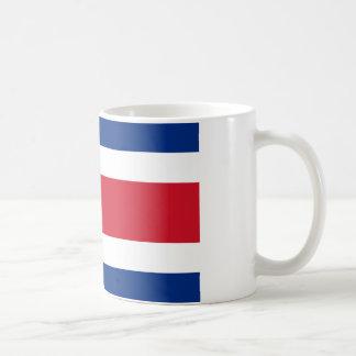 Costa Rica Flag Mugs