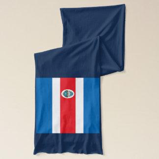 Costa Rica Flag Scarf