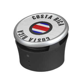 Costa Rica Flag Simple Bluetooth Speaker