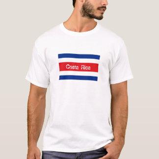 Costa Rica flag souvenir t-shirt