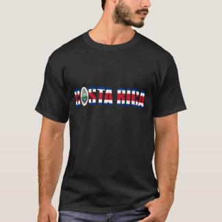 Costa Rica Flag Text T-Shirt