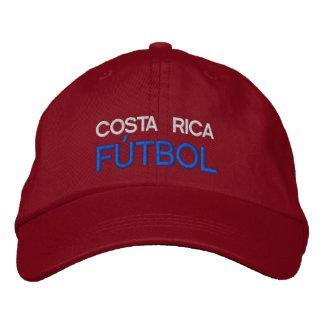 COSTA RICA FUTBOL EMBROIDERED HAT