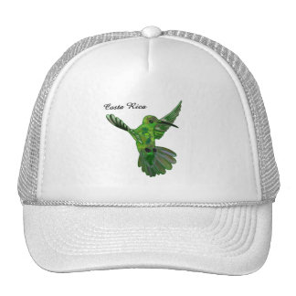 Costa Rica Hummingbird Mesh Hats