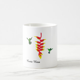 Costa Rica Hummingbirds and Heliconia Mug