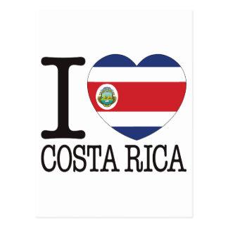 Costa Rica Love v2 Post Cards