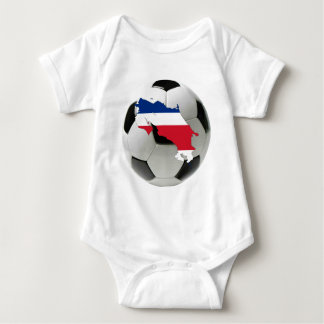Costa Rica national team Baby Bodysuit