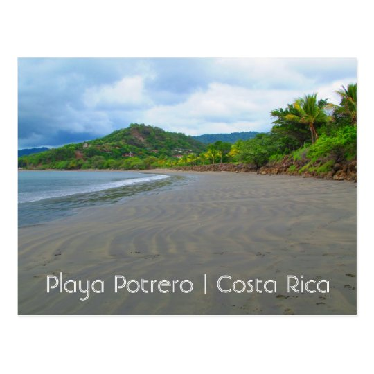 Costa Rica Playa Potrero Beach Postcard