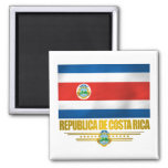 """Costa Rica Pride"" Gift Ideas Fridge Magnets"