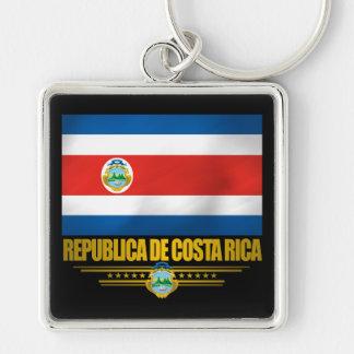 """Costa Rica Pride"" Gift Ideas Key Ring"