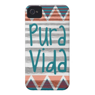 Costa Rica Pura Vida Aztec iPhone 4 Case-Mate Case