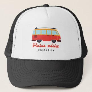 Costa Rica Pura Vida Travel Surf Van Trucker Hat