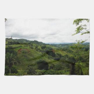 Costa Rica Rain Forest Tea Towel