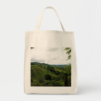 Costa Rica Rain Forest Grocery Tote Bag