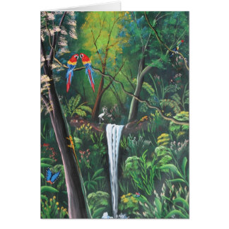Costa Rica Rainforest Card
