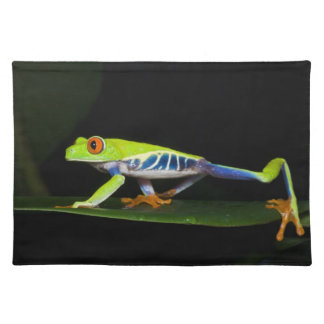 Costa Rica, Red-eyed Tree Frog (Agalychnis Placemat