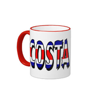 Costa Rica Ringer Mug