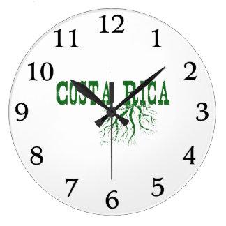 Costa Rica Roots Wallclock