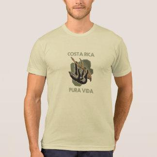 Costa Rica Sloth Hanging From Tree Pura Vida T-Shirt