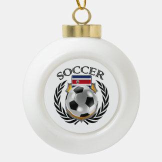 Costa Rica Soccer 2016 Fan Gear Ceramic Ball Decoration