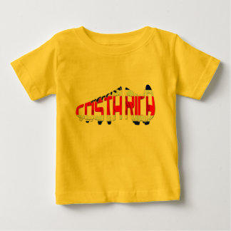 Costa Rica Soccer Cleat Baby T-Shirt