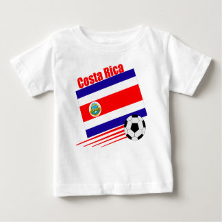 Costa Rica Soccer Team Baby T-Shirt