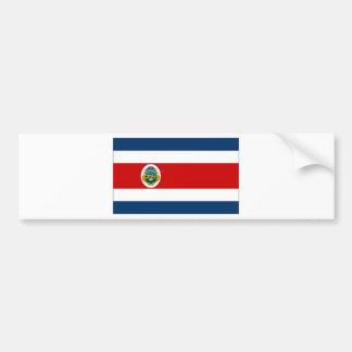 Costa Rica State Flag Bumper Stickers