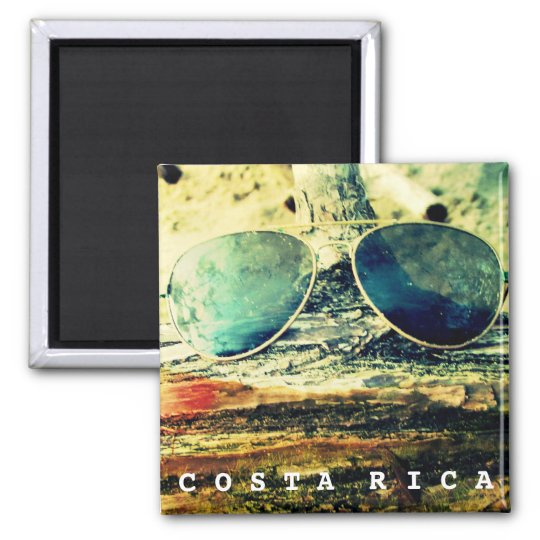 Costa Rica Sunglasses Pura Vida Magnet