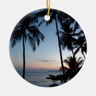 Costa Rica Sunrise Christmas Ornament