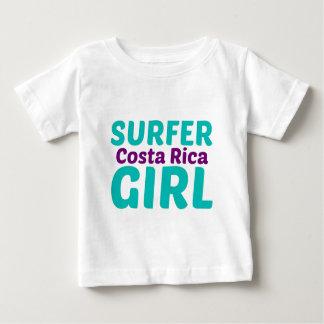 Costa Rica Surfer Girl Baby T-Shirt