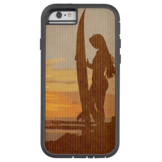 Costa Rica Surfer Girl Tough Xtreme iPhone 6 Case