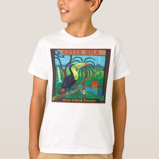 Costa Rica Toucan Rainforest T-shirt