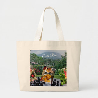 Costa Rica Travel Collection Large Tote Bag