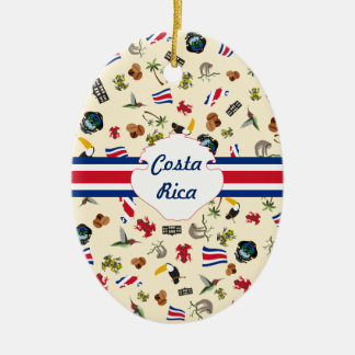 Costa Rica travel souvernir Christmas Ornament