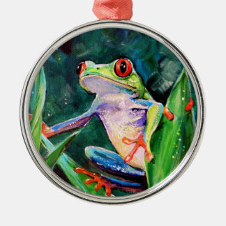 Costa Rica Tree Frog Christmas Ornament