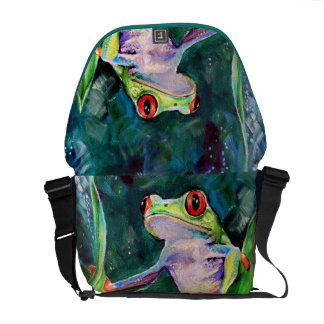 Costa Rica Tree Frog Courier Bag