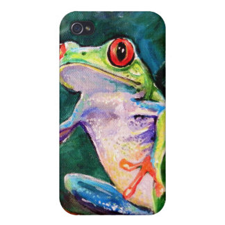 Costa Rica Tree Frog iPhone 4/4S Case