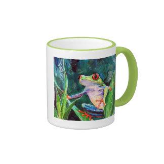 Costa Rica Tree Frog Ringer Mug