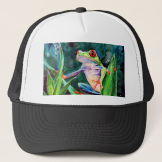Costa Rica Tree Frog Trucker Hat