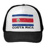 Costa Rica Vintage Flag Trucker Hat