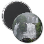 Costa Rica Waterfalls 6 Cm Round Magnet