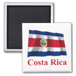 Costa Rica Waving Flag with Name