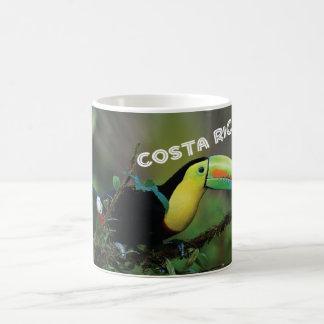 Costa Rica with Toucan Coffee Mug