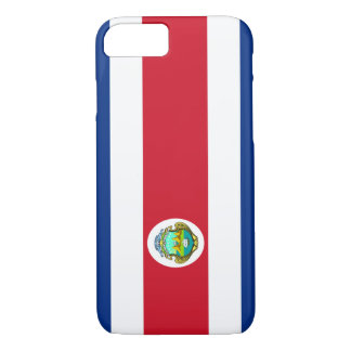 Costa Rican Flag iPhone 7 case