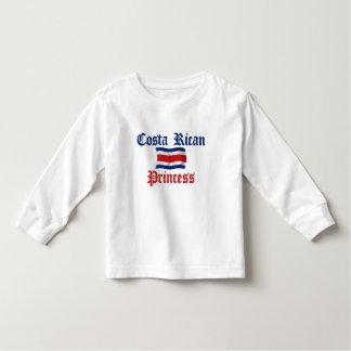 Costa Rican Princess Toddler T-Shirt